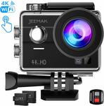 35% off Jeemak 4K Touch Screen Underwater Action Camera with Remote Control $64.99 Delivered @ Campark via Amazon AU