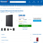 Seagate 3TB Expansion Portable Hard Drive $99 @ OfficeWorks