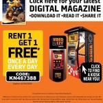 Rent 1 Get 1 Free DVD Rental @ Video Ezy Kiosks