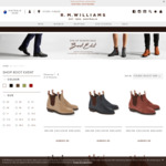 Selected R.M. Williams Comfort Craftsman and Adelaide Boots $395 + Free Shipping @ R.M. Williams