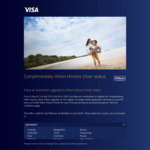 Complimentary Hilton Honors Silver Status for Eligible Visa Platinum Card Holders