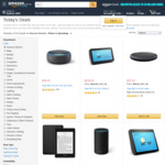 Save up to $74.50 on Echo Devices, $40 on Kindle E-Readers, $10 on Fire TV @ Amazon AU