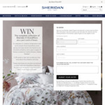 Win a Sheridan x Grandiflora Collection Set & $1,000 Grandiflora Gift Voucher from Sheridan