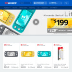 [Pre Order] Nintendo Switch Lite $199 (When Trading New 3DS XL or New 2DS XL + 2 Games) @ EB Games