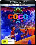 Coco - Disney/Pixar (4K UHD + Blu-Ray) - $17.75 + Delivery ($0 with Prime / $39 Spend) @ Amazon AU