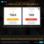 PCloud Cloud Lifetime 75% off - 2TB $245USD, 500GB $122.50USD Black Friday