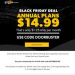 Stitcher Premium Annual Podcast Subscription $14.95USD
