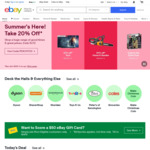 Free $20 Voucher with 30 Day eBay Plus Trial