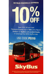 [VIC] 10% off Peninsula Express Tickets @ Skybus