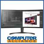"[eBay Plus] LG 34"" 34WL85C-B Curved UltraWide IPS HDR10 Monitor $749 Delivered @ Computer Alliance eBay"