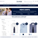 5 Shirts Delivered from $135 ($27 Each) + Delivery (Free over $150) @ T.M.Lewin