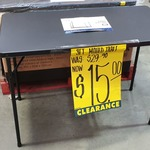 [WA] Trestle Table - Camping and Outdoor Table $15 @ Bunnings, Bibra Lake