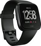 Fitbit Versa Smart Watch - Black Aluminium $99 Only C&C @ The Good Guys