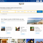 Spend over AUD $175 on Booking.com and Check out by 31 July to Get $20 Voucher on TigerAir @ Booking.com