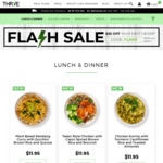 [QLD, NSW, ACT, VIC] 35% off Thrive Delivered Meals + Free Shipping ($100 Min Spend)