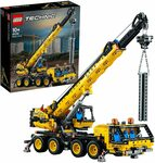 LEGO Technic Mobile Crane 42108 Building Kit $135.20, Land Rover Defender 42110 $263, Porsche 42096 $199 @ Amazon AU / Target