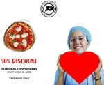 [NSW] 50% off Menu Items for Healthcare Workers at Via Napoli (Lane Cove, Surry Hills, Hunters Hill)
