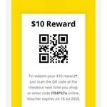 $10 off in-Store with QR Code ($10 Minimum Spend and Membership Required) for Existing Eligible Members @ IKEA