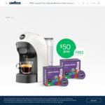 Lavazza A Modo Mio Tiny Coffee Machines Bundle - $50 Delivered ($90 with Milk Frother) @ Lavazza