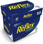 Reflex Ultra White A4 Copy Paper, 500 Sheets, Carton of 5 $22.99 + Delivery ($0 with Prime/ $39 Spend) @ Amazon AU