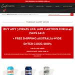 3X Pirate Life Brewing Cartons $149 Shipped (Save $61) @ Craft Cartel Liquor