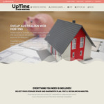 40% off (Lifetime) Cheap Web Hosting (from $12 per year) @ UpTime Web Hosting
