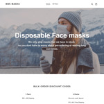 100x 3ply Face Masks for $65 Delivered from Melbourne @ MBK (200 Boxes Available)