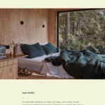 Win a 2 Night Stay in a Cabin from Unyoked & IN BED