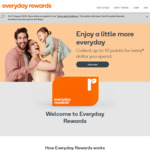 Earn Bonus Rewards Points with $95 ~ $290 Spend in One or More Shops @ Woolworths Rewards