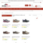 Rockport Mens & Womens Last Pairs Clearance Prices from $29.95 + Shipping @ Brand House Direct