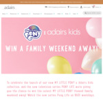 Win a Family Weekend Away valued at $5850 from Adairs [Instagram]