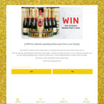 Win a Moet/Vodka/Sparkling Drink Pack Worth $650 from Luxx Drops