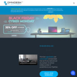 Omnidesk 35% off Sitewide Including All Upgrades and Accessories. E.g Omnidesk Pro 2020 $585 + Delivery