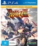 [PS4, Switch] The Legend of Heroes: Trails of Cold Steel III - Extracurricular Edition PS4 $24.98, Switch $57 @ EB Games