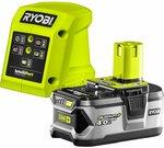 Ryobi 18V ONE+ 4.0ah Starter Kit (Battery and Charger) $99 @ Bunnings