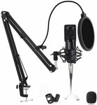 Professional Condenser Mic with Arm Cardioid Pickup $50.98 Delivered @ Zi Qian via Amazon AU