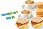 Pay Only $5 for Breakfast for 2 People from Snax 4U @ Imperial Shopping Centre Gosford NSW