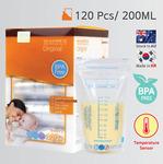 120 Pre-Sterilised BPA-Free Breast Milk Storage Bags 200ml $26.06 + Free Delivery @ Urtrustaumarket eBay