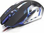TERSELY Gaming Mouse Wired $15.71 + Delivery ($0 with Prime/ $39 Spend) @ Statco via Amazon