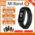 US$4 off: Xiaomi Mi Band 6 Blood Oxygen Fitness Traker US$45.38 (~A$60.07) @ Xiao_MI Youpin Store via AliExpress