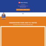 [NSW] 10% off Sydney Airport Undercover Parking @ Space Shuttle Car Park