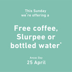 Free: Large Slurpee, Regular Coffee or a 600ml 7-Eleven Water to Defence Force Personnel @ 7 Eleven
