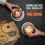 Free Coffee @ Soul Origin Via App (New Users Only)