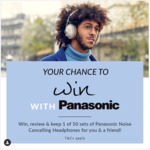 Win 1 of 25 Sets of Two Panasonic Retro Wireless Headphones Worth $599.90 from National Product Review