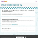 Double Helix (CSIRO's Science Magazine for Kids) Subscription Discount - 8 Issues 1 Year $55 (Was $65) @ CSIRO