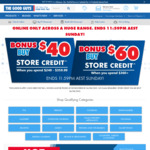 $40 Store Credit with $240-$359.99 Spend, $60 Store Credit with $360+ Spend (Online Only, Exclusions Apply) @ The Good Guys