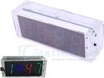 RGB 4bit Digital Clock Kit US$6.50, Audio Spectrum Display Kit US$3, MP3 Player Development Board US$4.15 + US$5 Post @ICStation