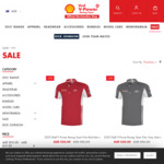 Up to 70% off Products: T-Shirt $20, Polo $30, Hoodies $45, Cap $12 + $9.90 Delivery ($0 with $80 Order) @ Shell V Power Racing
