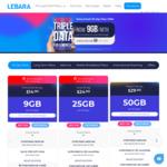 Prepaid Mobile: 180-Day 120GB $75 (Was $140)   30-Day 25GB $7 (Was 15GB, $24.90), 9GB $4 (Was 3GB, $14.90) @ Lebara