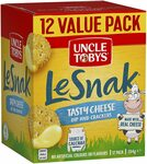 Uncle Tobys Le Snak Tasty Cheese Dip & Crackers 12 Pack $5.50 ($4.95 S&S) + Delivery ($0 with Prime/ $39 Spend) @ Amazon AU